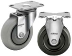 2A-04 ALBION LIGHT DUTY STAINLESS STEEL CASTERS
