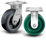 4A-100 Albion Kingpinless Series Shockmaster™ Kingpinless Casters