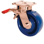 4M-GHK-SS MUVTONS TOTAL LOCK SERIES STAINLESS STEEL KINGPINLESS CASTERS