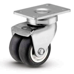 1MC-DN MedCaster Series <br>Neoteq Dual Wheel Comfort Roll Caster