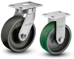 6A-300 ALBION SERIES SHOCKMASTER™ KINGPINLESS CASTERS