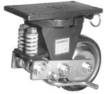 8D-4100-SA Darnell Series Medium Heavy Duty  Shock Absorbing Casters