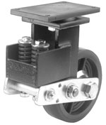 8D-4400-SA Darnell Series Heavy Duty  Shock Absorbing Casters