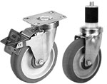 02JSS Stainless Steel Casters