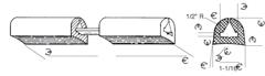 DARNELL A-2084 SERIES STRIP BUMPER